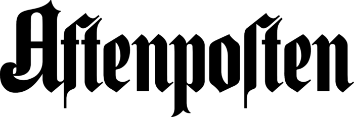 Aftenposten Logo black text