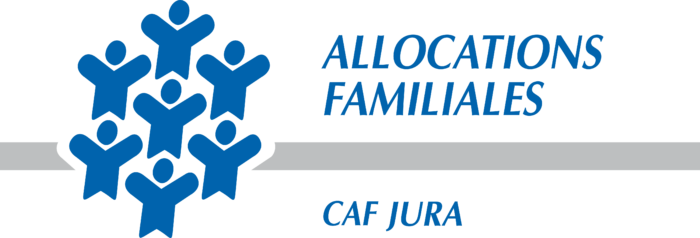Allocations Familiales Logo blue