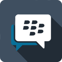 BlackBerry Messenger Logo background