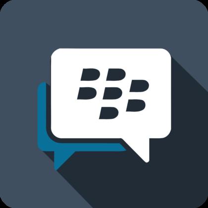BlackBerry Messenger Logo background