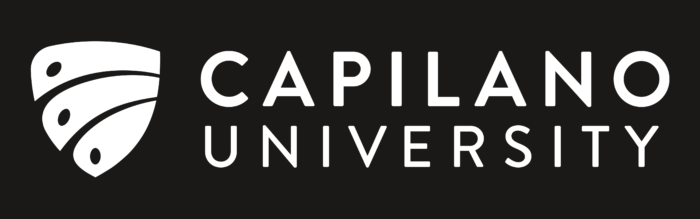 Capilano University Logo black