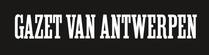 Gazet van Antwerpen Logo black