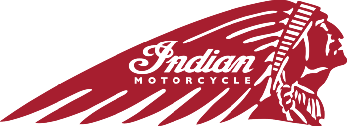 Indian Motor Cycles Logo red