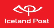 Islandspostur Logo red