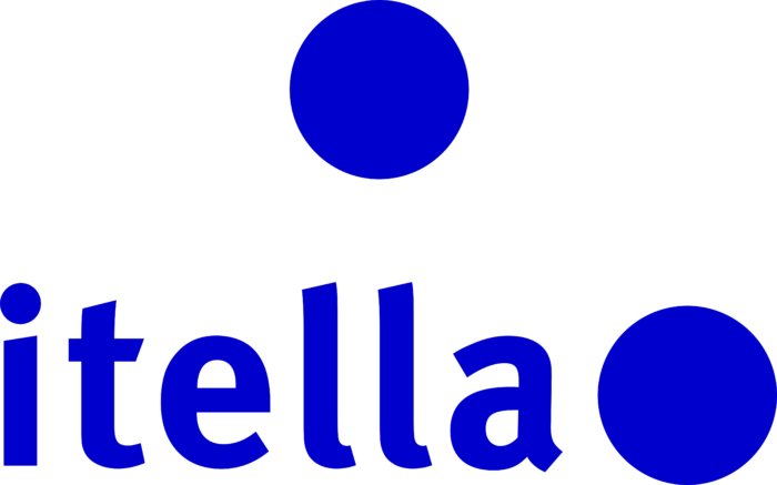 Itella Corporation Logo old blue