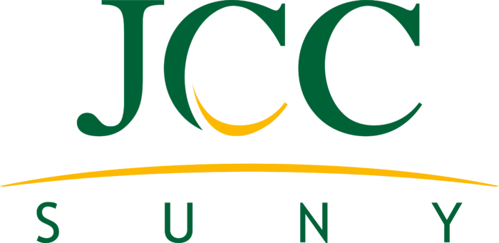 Jamestown Community College Logo text suny