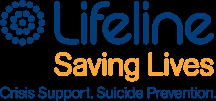 Lifeline Australia Logo saving lives