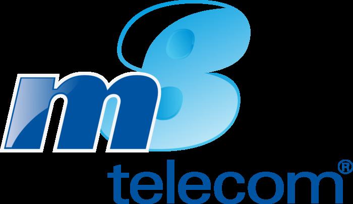 M8 Telecom Logo old