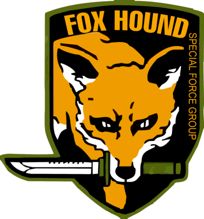 Metal Gear Solid Foxhound Logo