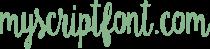 MyScriptFont.com Logo
