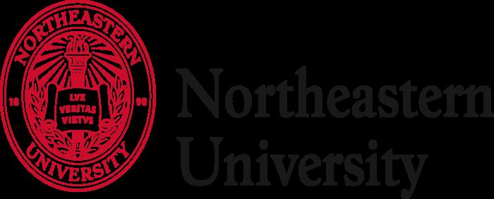 Northeastern University Logo full