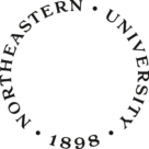 Northeastern University Logo text