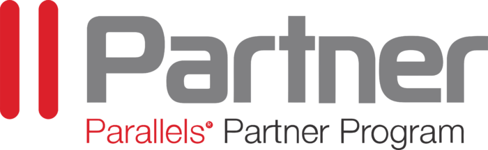 Parallels International GmbH Logo grey text