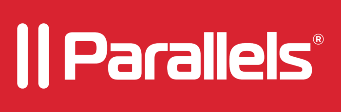 Parallels International GmbH Logo red background
