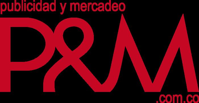 Publicidad y Mercadeo Logo red text