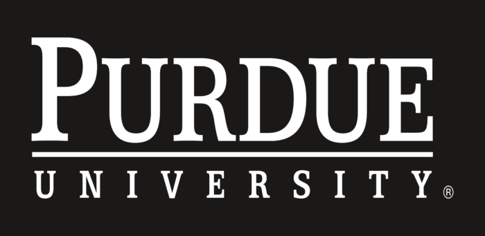 Purdue University Logo text