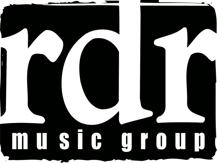 RDR Music Group Logo black