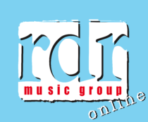 RDR Music Group Logo blue