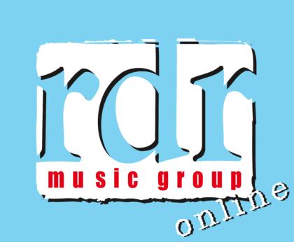 RDR Music Group Logo blue