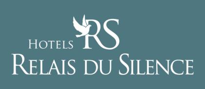 Relais Du Silence Hotel Logo white text