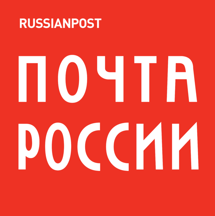 Russian Post Logo red