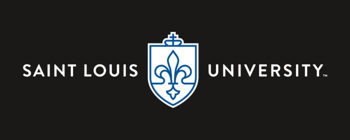 Saint Louis University Logo new black background
