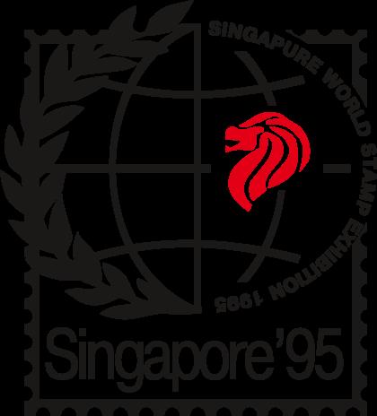 Singapur World Stamp Exhibition Logo