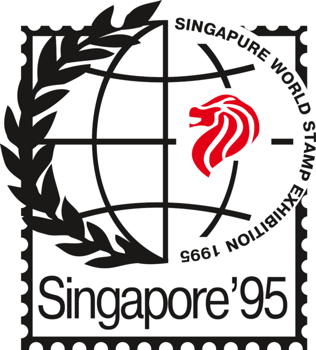 Singapur World Stamp Exhibition Logo
