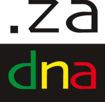 South Africa, .ZA Logo