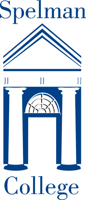 Spelman College Logo blue