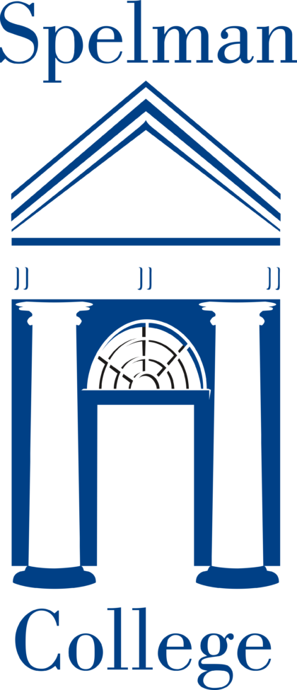 Spelman College Logo blue