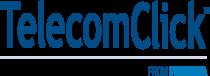 Telecom Click Logo blue