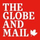 The Globe and Mail Logo white text