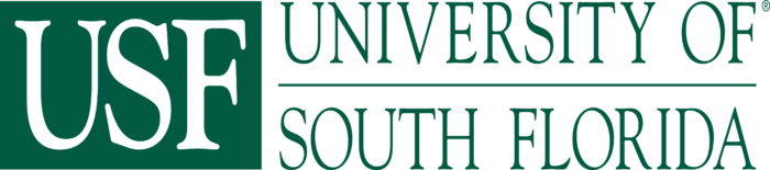 University of South Florida Logo old text