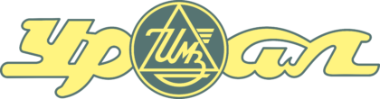 Uralmoto Logo yellow