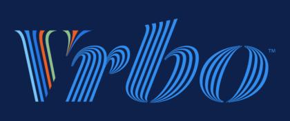 VRBO Logo blue background