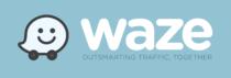 Waze Logo full