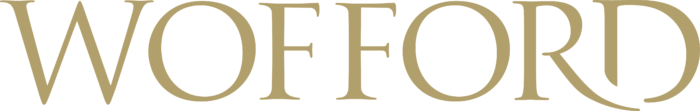 Wofford College Logo old text