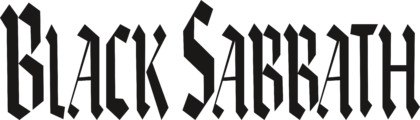 Black Sabbath Band Logo