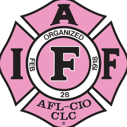 International Association Fire Fighters Logo