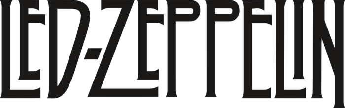 Led Zeppelin Logo text