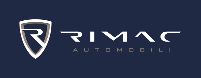 Rimac Automobili Logo horizontally color dark
