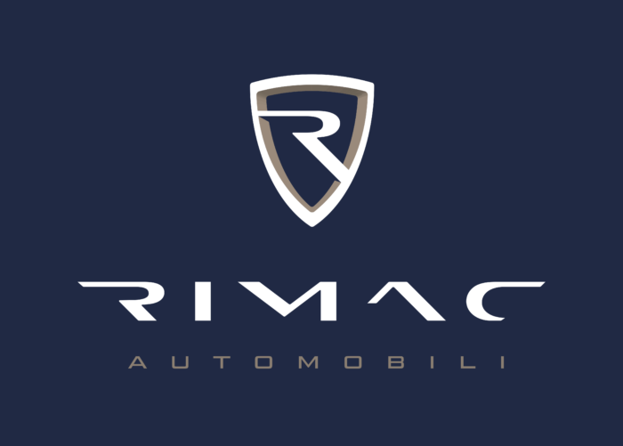 Rimac Automobili Logo vertically color dark