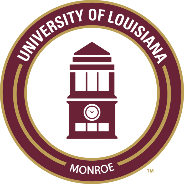 University of Louisiana at Monroe Logo old full