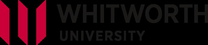 Whitworth University Logo black text