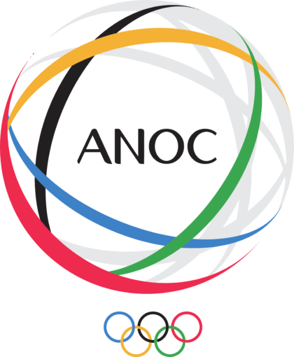 Association of National Olympic Committees Logo