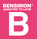 Bensimon Logo white text