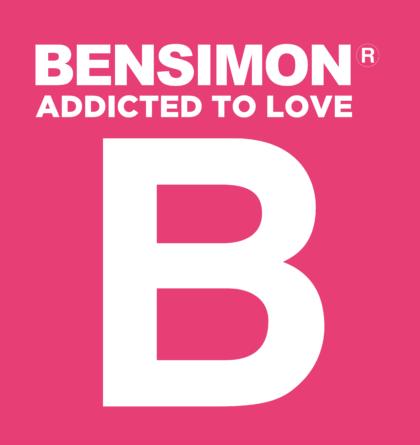 Bensimon Logo white text