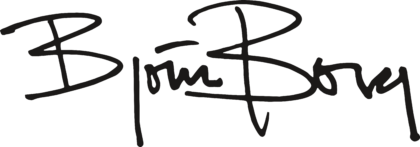 Björn Borg Logo black