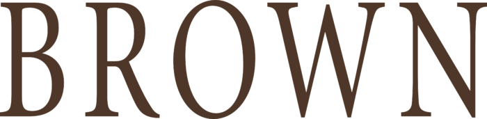 Brown University Logo text